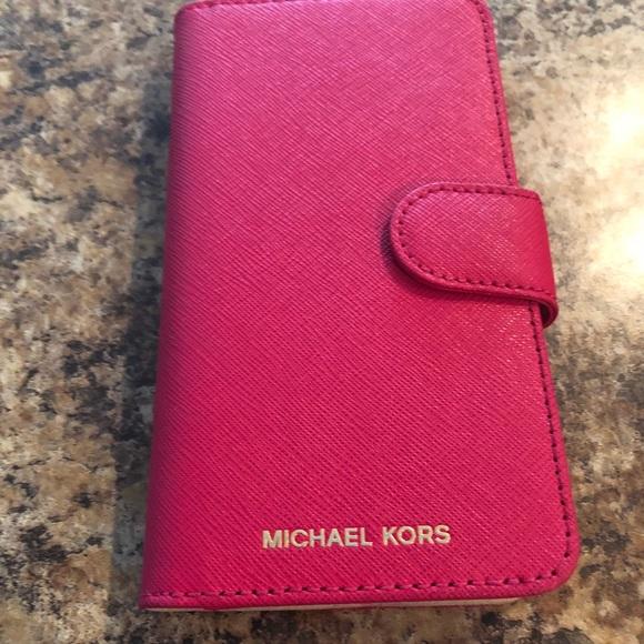 cd4ba28e704b Michael Kora pink iPhone X Folio case. M 5bb270c39519963afaa56f2c